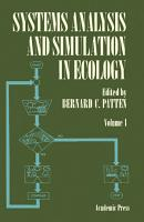 Systems Analysis and Simulation in Ecology PDF