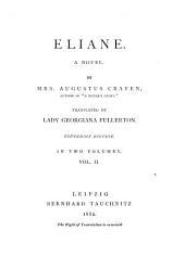 Eliane: A Novel, Volume 2