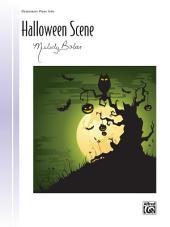 Halloween Scene: Elementary Piano Solo