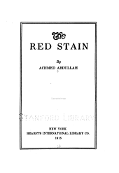 The Red Stain