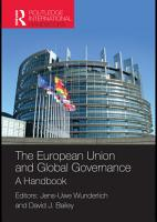 The European Union and Global Governance PDF