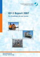 IEF 3 Report 2007 PDF