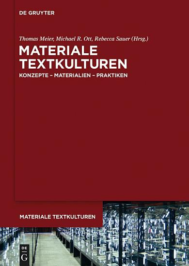 Materiale Textkulturen PDF