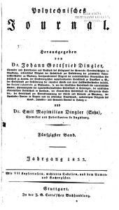 Dingler's polytechnisches Journal: 1833, Band 50