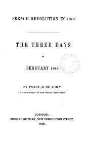 French revolution in 1848, the three days of February 1848