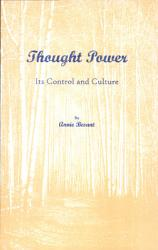 Thought Power  Its Control and Culture PDF