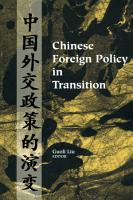 Chinese Foreign Policy in Transition PDF