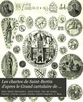 Les chartes de Saint-Bertin d'apres le Grand cartulaire de Charles-Joseph Dewitte: Volume4