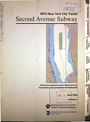 Second Avenue Subway in the Borough of Manhattan, New York County