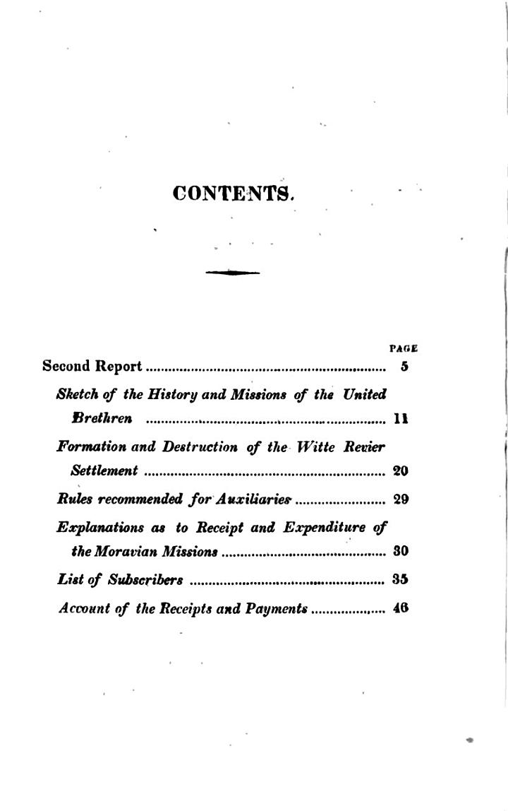 The second report of the London association in aid of the missions of the United brethren, commonly called Moravians, formed the 12th of Dec., 1817