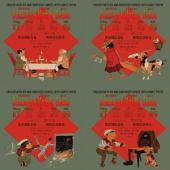 10 - Denslow's Mother Goose, 4-Volume Set (Simplified Chinese Hanyu Pinyin with IPA): 叮当鹅妈妈(四册)(简体汉语拼音加音标)