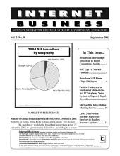 Internet Business Monthly Newsletter