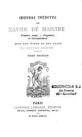 Oeuvres inédites: premiers essais, fragments et correspondance