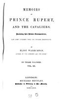 Memoirs of Prince Rupert and the cavaliers PDF