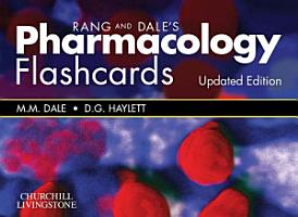 Rang   Dale s Pharmacology Flash Cards Updated Edition PDF