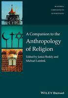 A Companion to the Anthropology of Religion PDF