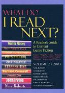 What Do I Read Next  Volume 2 2003 PDF