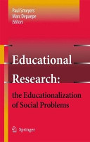 Educational Research  the Educationalization of Social Problems PDF