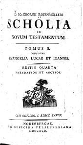 D. Io. Georgii Rosenmülleri Scholia in novum testamentum: Volume 2