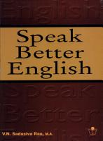 Speak Better English PDF