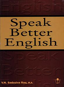 Speak Better English Book