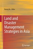 Land and Disaster Management Strategies in Asia PDF