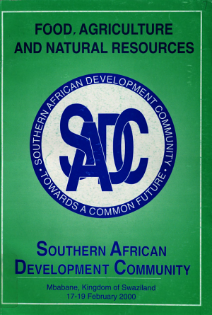 Southern African Development Community  2000 Consultative Conference Publications    Food  agriculture  and natural resources PDF