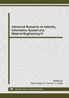 Advanced Research on Industry  Information System and Material Engineering IV PDF