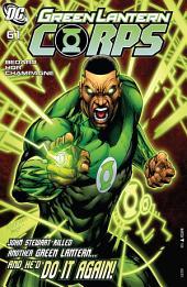 Green Lantern Corps (2006-) #61