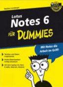Lotus Notes 6 f  r Dummies PDF