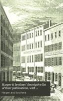 Harper   Brothers  Descriptive List of Their Publications PDF