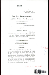 New York Supreme Court Appellate Division-First Department