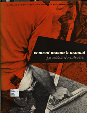 Cement Mason s Manual for Residential Construction PDF