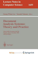 Document Analysis Systems: Theory and Practice