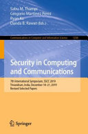 Security In Computing And Communications