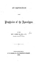 An Exposition of the Prophecies of the Apocalypse PDF