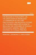 The Religion of Philosophy PDF