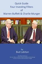 Quick Guide to the Four Investing Filters of Warren Buffett and Charlie Munger
