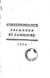 Correspondance Secrette et Familiere