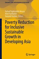 Poverty Reduction for Inclusive Sustainable Growth in Developing Asia PDF