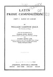 Latin Prose Composition: Part 1