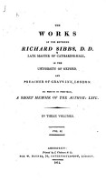 The Works of the Reverend Richard Sibbs     PDF