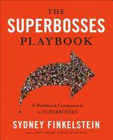 The Superbosses Playbook PDF