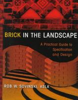 Brick in the Landscape PDF
