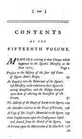 The Works of Jonathan Swift, D.D., Dean of St. Patrick's, Dublin: Volume 15