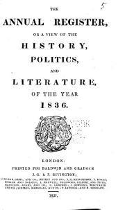 Annual Register: Volume 78