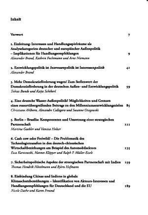 Interessen und Handlungsspielr  ume in der deutschen und europ  ischen Aussenpolitik PDF