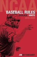NCAA Baseball Rules in Black and White Book