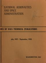 Index of NACA Technical Publication PDF