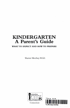 Get Ready for Kindergarten  PDF